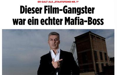Artikel Bild Zeitung Mafiaboss