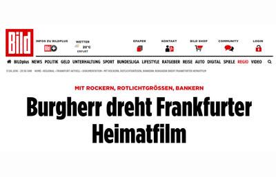 BILD berichtet über Frankfurt Testosteron
