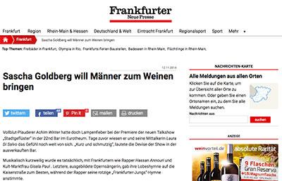 Frankfurter Neue Presse Artikel über Testosteron