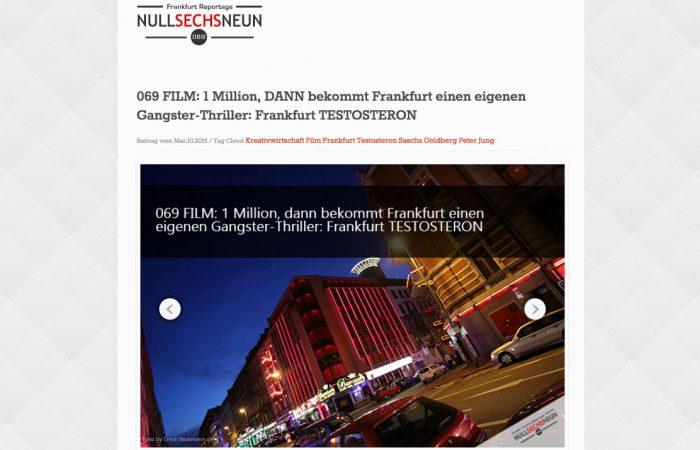 Crowdfunding-Aufruf bei NullSechsNeun